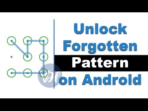 How to Unlock Forgotten Pattern on Android