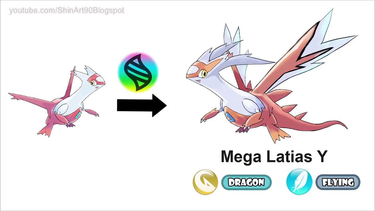 Mega Latias X, Y ; Mega Latios X,Y - Future Pokemon Mega ...