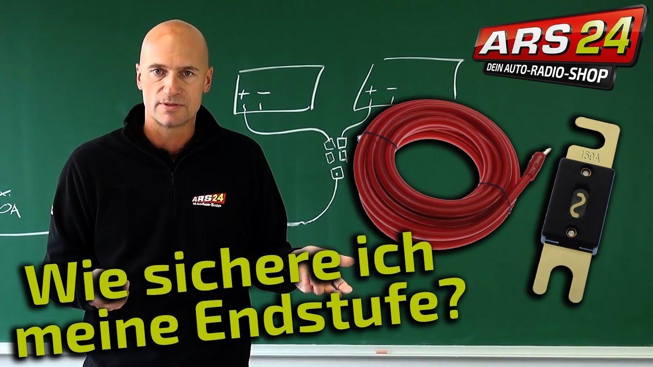 Mini ANL Sicherung 25 Ampere für Batterie Stromkabel an Auto Car Hifi Endstufe