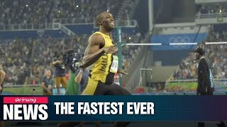 Rio 2016: Usain Bolt still fastest ever as he wins 100m for record third Olympics