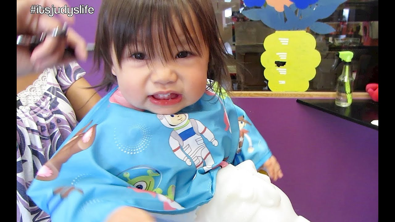 Babys First Haircut April 11 2014 Itsjudyslife Daily Vlog