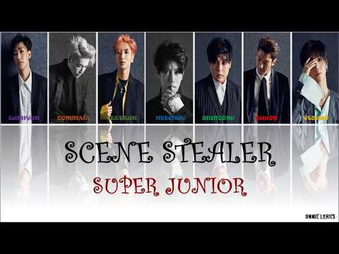 Super Junior (슈퍼주니어) - Scene Stealer lyrics [Kor|Rom|Eng Color Coded]