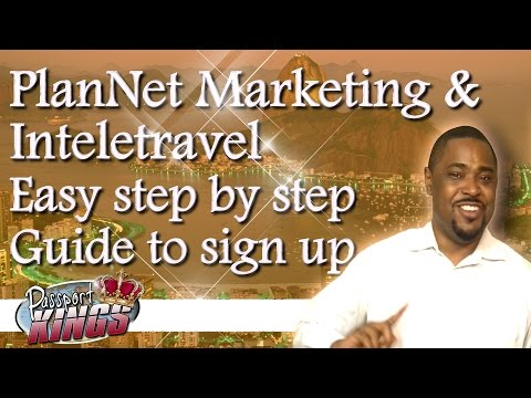 Travel Agent Sign Up process, step by step Tutorial: Passport Kings Travel Video