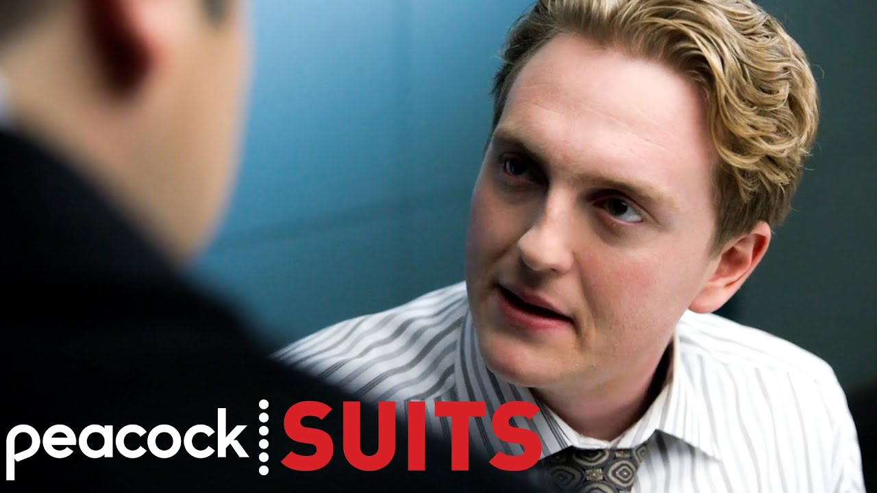 Louis Tries To Ensure Harold Not To Talk | Suits