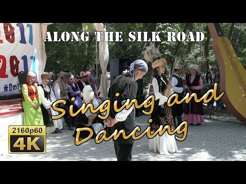 Osh Fest, Singing and Dancing - Kyrgyzstan 4K Travel Channel