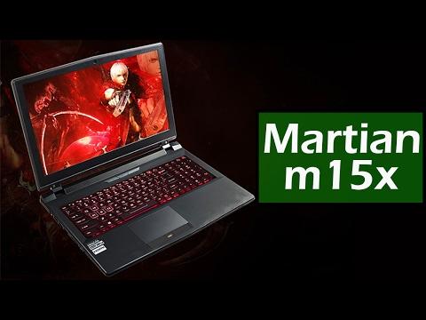 Martian m15x - 980M Laptop - 동영상