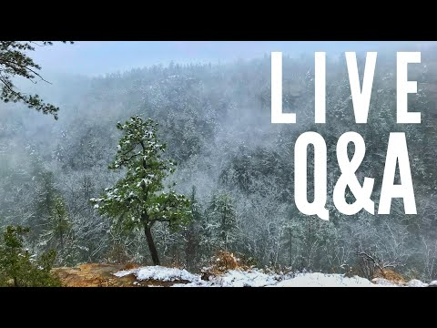 🔴 LIVE Q&A: Saving money backpacking and post-hike (Red River Gorge) chat