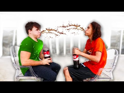 COKE & MENTOS TRY NOT TO LAUGH CHALLENGE! w/ Robust