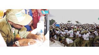 Davido Shutdown NYSC Camp As Multitude Came Out To See Him