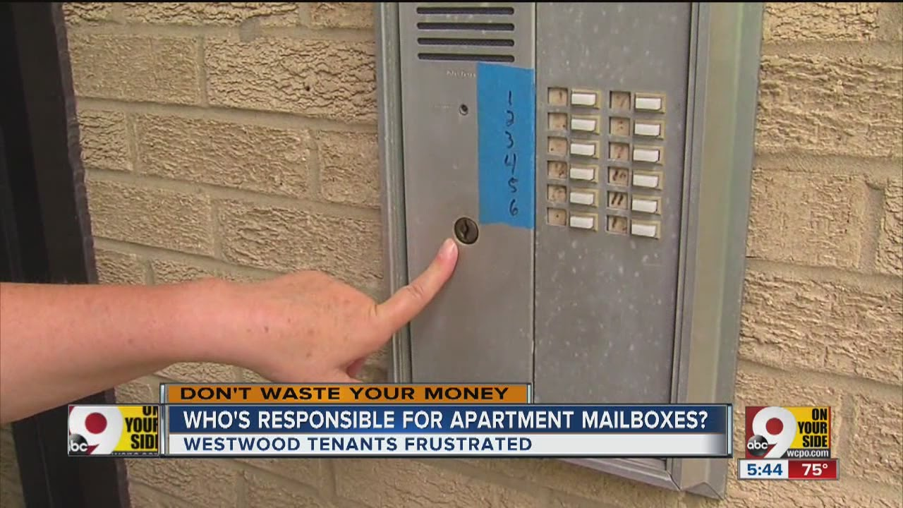 Who\'s responsible for apartment mailboxes? - YouTube