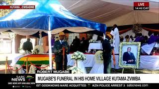 Robert Mugabe burial at his home village of Kutama