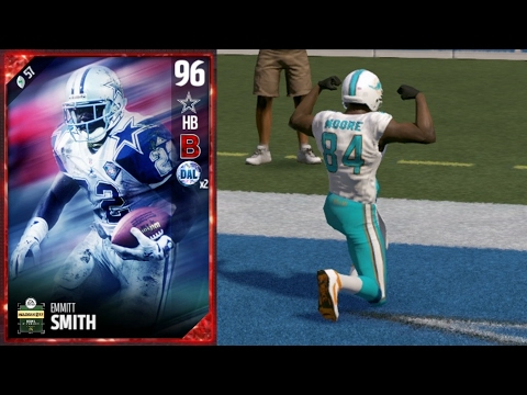 Madden 17 Ultimate Team - Super Bowl Emmitt Smith Debut!