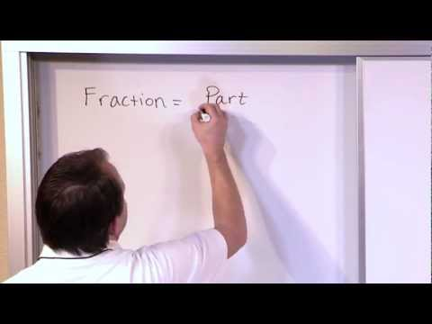 Review of Fraction Concepts - 5th Grade Math