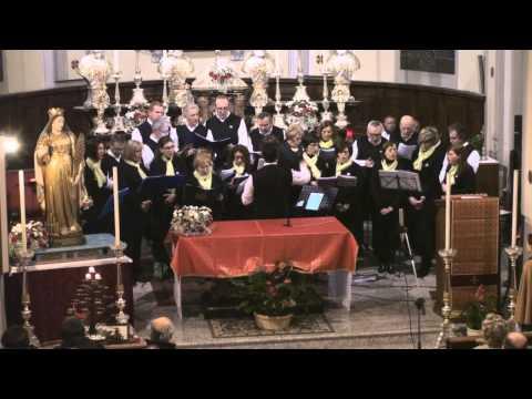 Coro Tre Ponti - Senza te Sacra regina - Sovazza 23 11 2013