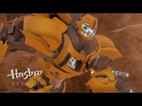 Transformers: Prime  Bumblebee is No Fool!