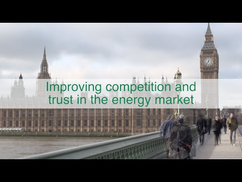 Improving competition and trust in the energy market