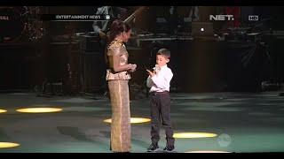 Rossa ajak anak naik ke panggung saat konser di Kuala Lumpur