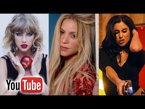 Top 100 Most viewed female music videos