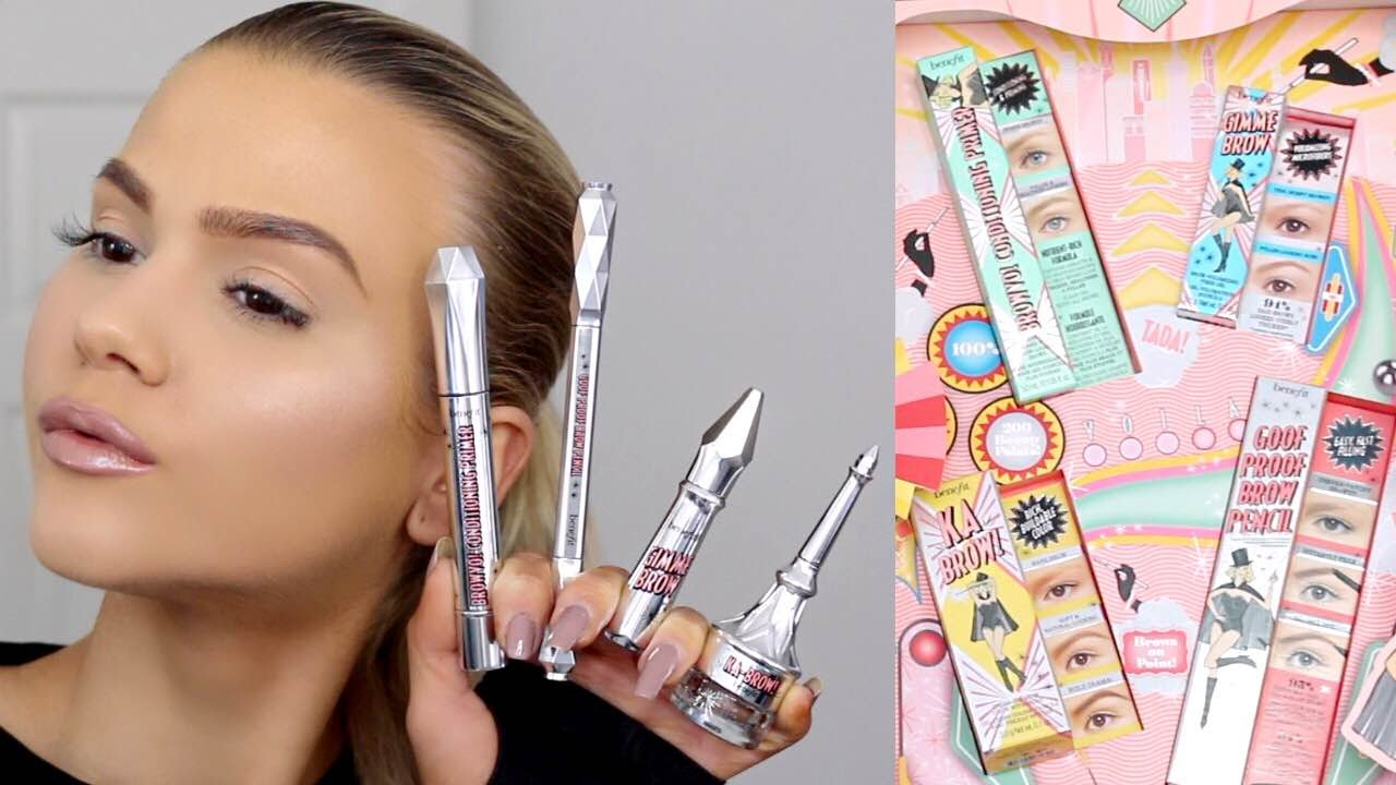 First Impressions New Benefit Brow Collection Browvo Ka Brow