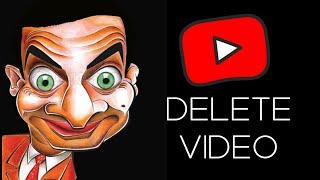 HOW TO DELETE YOUTUBE VIDEOS 2020