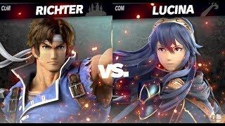 Echo Fighters - Richter vs. Lucina - Super Smash Bros. Ultimate