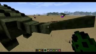 Обзор модов для Minecraft[1.6.2] #29 - LotsOMobs [Динозавры , броня , новые миры!]