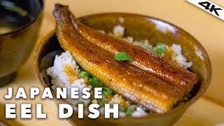 Japanese UNAGI EEL Restaurant in TOKYO | Roppongi, Tokyo [4K]