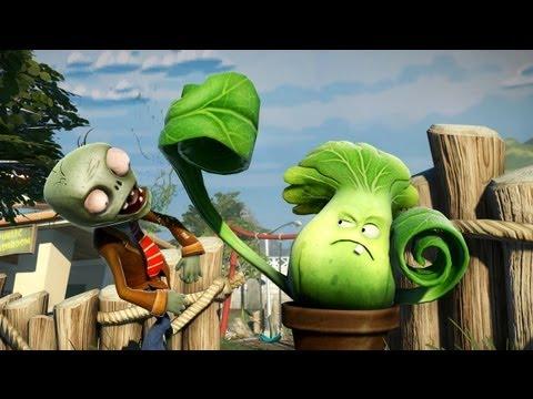 Plants vs. Zombies Garden Warfare | Debut Trailer (E3 2013) OFFICIAL [EN]