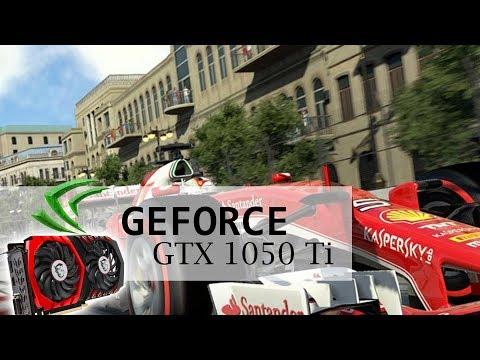 F1 2017 - GTX 1050 Ti - i5 2500k - 1080p - 60FPS - Max Settings