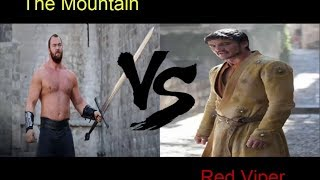 Red Viper (Vibora Roja) VS The Mountain (La Montaña)