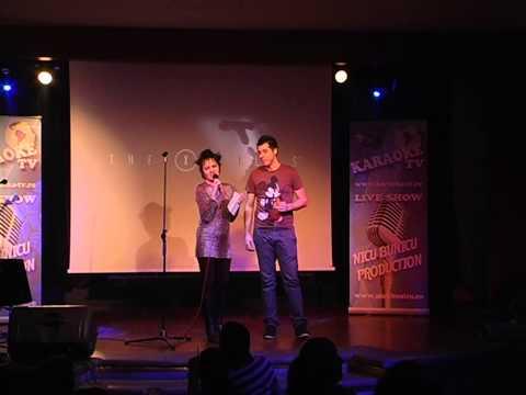 Premiile Karaoke Star 01.02.2013 prezentate de MC Musette pe scena Hard Rock Cafe