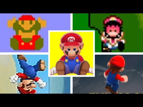 Evolution Of Mario's TIME UP DEATH in Mario Games Series (1985-2017)