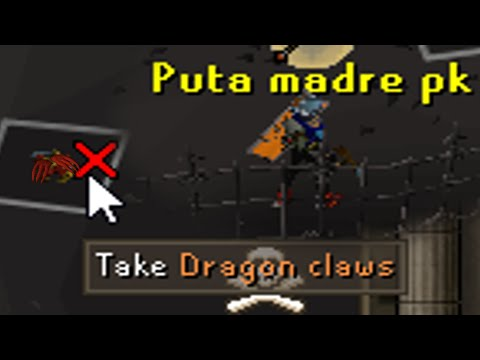 Pretending to be a Kbd PvMer (150m+ Risk Distract Luring/Anti-Pking) - Osrs