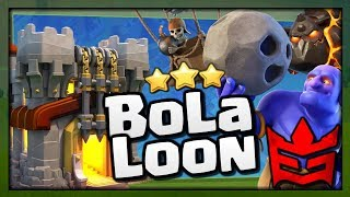 BoLaLoon 3 Star Attack Strategy in Clash of Clans - TH11 Attacks by Elite Gaming vs War Zone [2018]