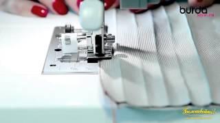 Швейная машинка  Урок 7 защипы
