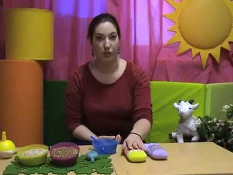 Как сделать сенсорные мешочки своими руками - YouTube