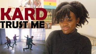 KARD - TRUST ME MV REACTION