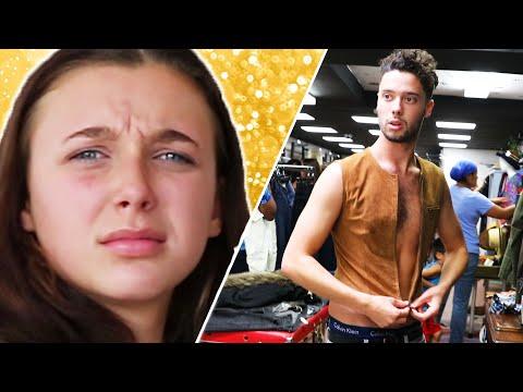 Thrifting Challenge Feat. Emma Chamberlain