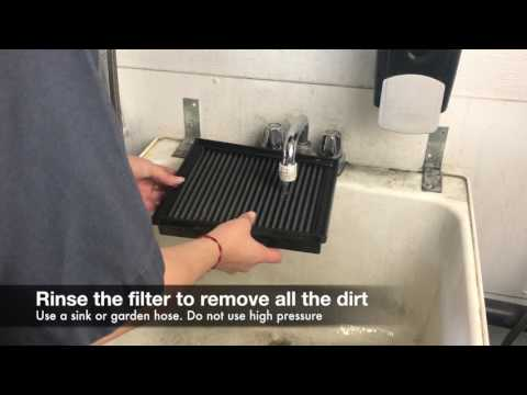 How to Clean an aFe POWER Dry Flat Panel Filter