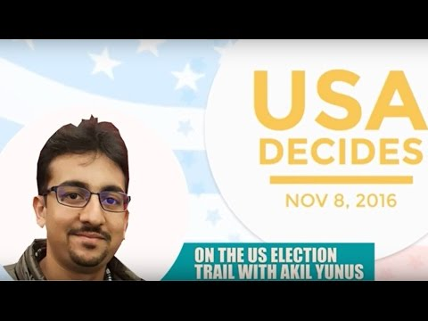 US polls 2016: On the trail with Akil Yunus - Trump in the lead