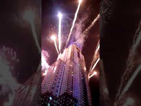 2017_2018 Tallest East African building-UAP Towers New Year fireworka