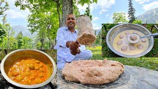 Goshtaba Aur Rista Recipe  Wazwaan Gushtaba Rista  Kashmiri Village Food  Mubashir Saddique