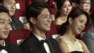 Park Bo Gum x Lee Hyeri - 박보검 x 이혜리 Moments in Baeksang Awards 2016