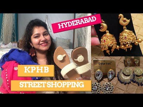 Hyderabad Street Shopping | KPHB/Kukatpally/JNTU Road Street Shopping |Priyanka Boppana