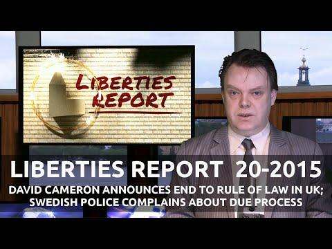 Liberties Report - week 20, 2015