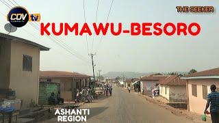 Gambar cover Kumawu - Besoro Drive in the Ashanti Region of Ghana: Enjoy the ride with the Seeker Ghana.