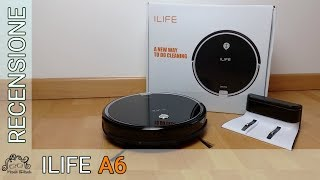 ILife A6 - Recensione in italiano - Un robot aspirapolvere elegante e...