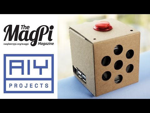 Get a free AIY Projects Voice Kit with The MagPi 57! - Raspberry Pi