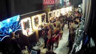 Time lapse backstage Miss Universe 2013 Moscow Russia