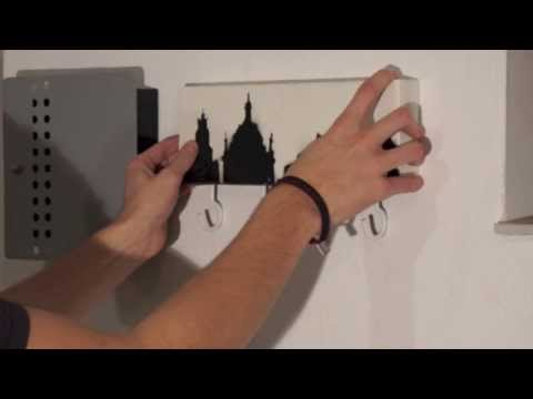"Garderobe - Skyline ""Dresden"" Design"